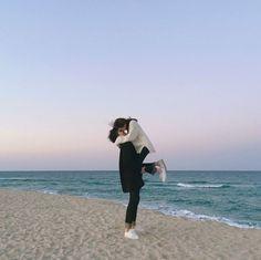 Devil Boy Love Story - part 31 Photo Poses For Couples, Cute Couples, Couple Aesthetic, Aesthetic Pictures, Korean Picture, Couple Shots, Couple Dps, Uzzlang Girl, Couple Beach