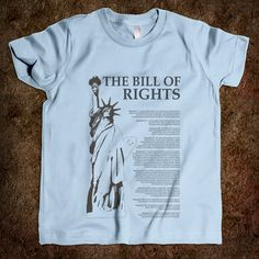 Kids design t-shirt for their favorite of the first 10 amendments