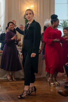 Killing Eve costume designer Sam Perry tells us all about what we can expect to see Villanelle wearing (and causing chaos in) this season. Wedding Wear, Wedding Suits, Wedding Dresses, Eve Costume, Costumes, Jodie Comer, Chef D Oeuvre, Ohana, Wedding Season