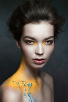 Title: TACHETÉ Photography: Ruo Bing Li  Makeup and Hair: TAMI EL SOMBATI @ Judy Inc using MAC cosmetics  Model: GABY OUELLET @ Plutino Models Post Production: RAFAEL ALEXANDER