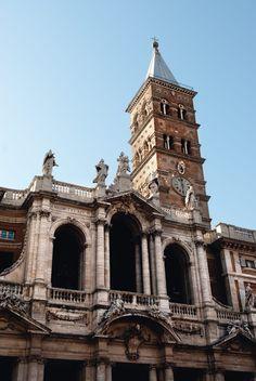 Los herederos del Trastevere: Monti, San Lorenzo y Pigneto Santa Maria Maggiore, Roman Church, World History, Big Ben, Notre Dame, Places To Travel, Rome, Architecture, Building