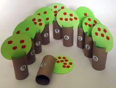Creative math activities for kids Preschool Art Activities, Toddler Learning Activities, Infant Activities, Kids Learning, Creative Curriculum, Creative Teaching, Toddler Crafts, Crafts For Kids, Toilet Paper Crafts