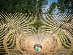 26 instalaciones se presentan en el Festival Internacional del Jardín