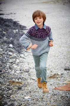 Lana Grossa PULLOVER Alta Moda Alpaca  - FILATI Kids & Teens No. 4 - Modell 56 | FILATI.cc WebShop