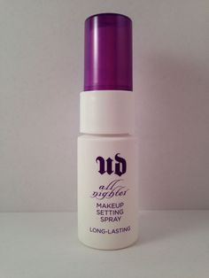 Urban Decay All Nighter Long-Lasting Makeup Setting Spray .5 oz Travel Size NEW #UrbanDecay