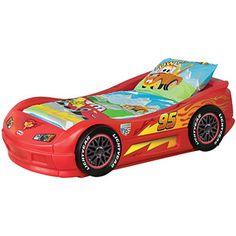 Lightning McQueen Race Car Toddler Bed