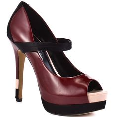 Jessica Simpson   Ely - Burnt Red Patent