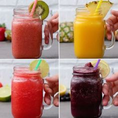 Splendid Smoothie Recipes for a Healthy and Delicious Meal Ideas. Amazing Smoothie Recipes for a Healthy and Delicious Meal Ideas. Smoothie Drinks, Healthy Smoothies, Healthy Drinks, Healthy Snacks, Fruit Smoothies, Strawberry Kiwi Smoothie, How To Make Smoothies, Strawberry Lemonade, Healthy Juices