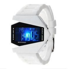 Cool Oversized Light Digital Sports Quartz Rubber Wrist Watches Sale