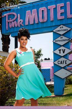 Blue dress monica 415