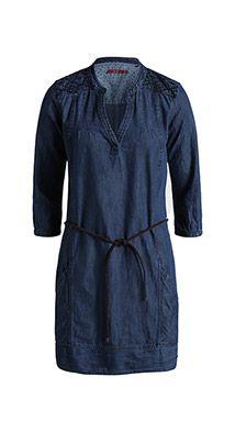 Esprit / Robe en jean de style tunique