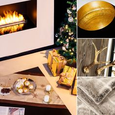 Get into the holiday #decorating mood! Feel the #holiday spirit! Bring out the blankets, light the intelligent fireplace and enjoy the special moments with your family and friends.  www.planikafires.com www.facebook.com/planikafire