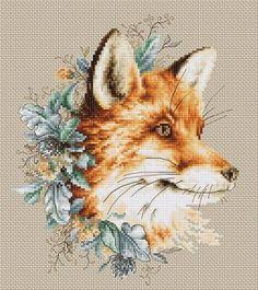 Borduurpakket - The Fox - Luca-s