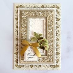 Fall and Christmas Border Stickers Made Easy! - Anna Griffin Anna Griffin Inc, Anna Griffin Cards, Christmas Border, Make It Simple, Embellishments, Card Making, Paper Crafts, Stickers, Fall