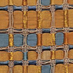 metallic weaving