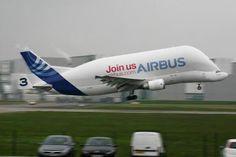 Airbus Beluga Cargo Airplane