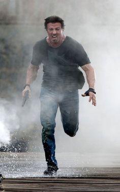 Stuntman killed on set of Sylvester Stallone film 'The Expendables - NME The Expendables, Sylvester Stallone, Bruce Willis, Arnold Schwarzenegger, Stallone Schwarzenegger, Running Pose, Claude Van Damme, Action Movie Stars, Retro