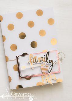April 2015 Heidi Swapp Minc - Easter Mini Album by Jamie Pate Mini Albums Scrap, Mini Scrapbook Albums, Filofax, Cute Scrapbooks, Deco Foil, Heidi Swapp, Album Photo, Craft Box, Smash Book