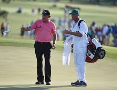 Phil Mickelson in third round of (2015) | Masters