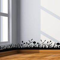 Grass Border Wall Decal Wall Border By CherryWalls On Etsy