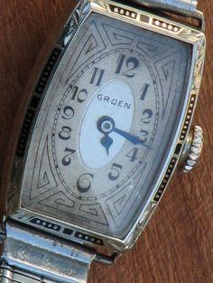 vintage gruen womens watches
