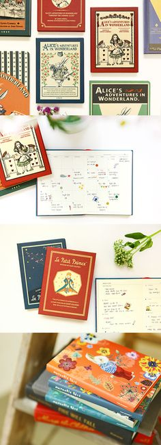 What's better than 1? 2 of course! This set comes with 2 beautiful dateless planners where the cover artwork will bring happy nostalgia of childhood favorites, such as The Little Prince and Alice in Wonderland!