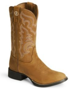 Tony Lama 3R Series Stockman Boots - Round Toe Womens Cowgirl Boots, Cowboy Boots, Tony Lama Boots, Blue Jean Shorts, Blue Jeans, Everyday Outfits, Me Too Shoes, Rounding, Dress Skirt