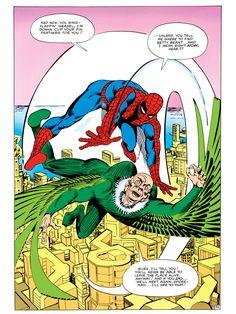 The Amazing Spider-Man Annual #1 interior art - Steve Ditko