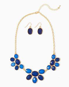 charming charlie | Petal to the Metal Chromatic Necklace Set | UPC: 400000010175 #charmingcharlie