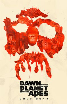 Dawn of the Planet of the Apes Alternative Poster by Janee Meadows