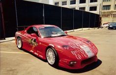 The Fast and The Furious  Mazda RX-7