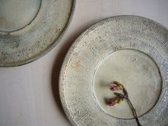 Yagihashi Noboru ceramic plates