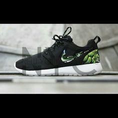 60ee5d012edd The Hulk Nike Roshe Run Custom This listing is for a custom designed Roshe.  The