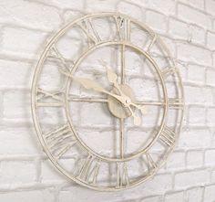 Zegar minimalistyczny biały GaGaLu