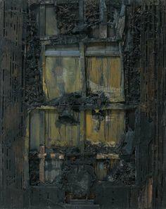 La ventana, 1963 Lucio Muñoz paintings, plastic arts, visual arts, fine arts, abstract