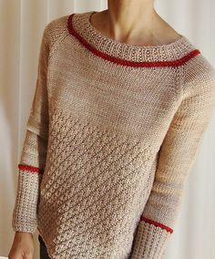 Ravelry: Enchanted pattern by Ayako Monier is knit top-down in a 10ply worsted yarn