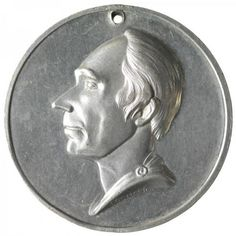 A medalet from the Henry Clay campaign of 1844.