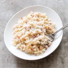 Risotto with Cabbage and Country Ham Caramel Chocolate Bar, Caramel Tart, Chocolate Desserts, Eat To Live, Time To Eat, Can Cats Eat Ham, Jelly Gummies, Donut Toppings, Country Ham