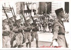 Juillet 1939, le 1er REI défile à Marseille