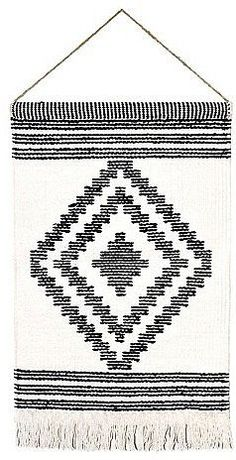 Diamond Handwoven Art ($35) | The Prettiest Woven Wall Hangings You Can Buy | POPSUGAR Home