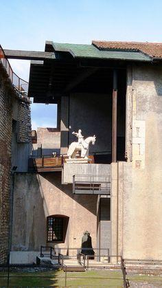 Carlo Scarpa - restauro del Museo di Castelvecchio, Verona | Flickr - Photo Sharing!