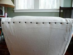 How to Make Arm Chair Slipcovers for Less Than $30 : Home Improvement : DIY Network