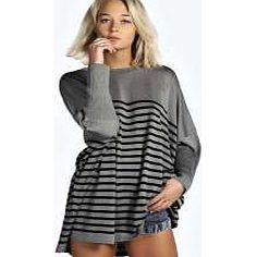 boohoo Stripe Oversized Jumper - grey azz12873 Go back to nature with your knits this season and add animal motifs to your must- haves. When youre not wrapping up in woodland warmers, nod to chunky Nordic knits and polo neck jumpers in peppered ma http://www.comparestoreprices.co.uk/womens-clothes/boohoo-stripe-oversized-jumper--grey-azz12873.asp