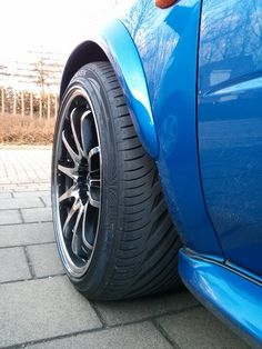Rims on Subaru Impreza