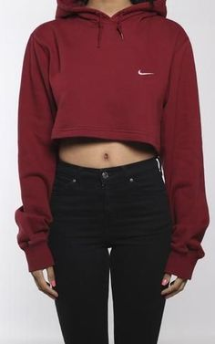 Vintage Nike Crop Sweatshirt
