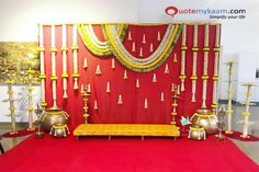 : Stage decoration ideas with flowers Stunning wedding stage decoration ideas. WOW images for stage decoration for wedding by Flower decorators. Wedding Backdrop Design, Desi Wedding Decor, Wedding Hall Decorations, Engagement Decorations, Backdrop Decorations, Flower Decorations, Backdrops, Wedding Ideas, Wedding Mandap