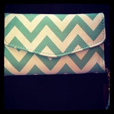 Chevron wallet at Target