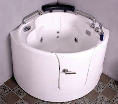 1000 images about walk in bathtubs on pinterest walk in for Sit down shower tub