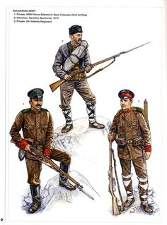 Artículos similares a The Bulgarian Army - Armies of the Balkan Wars - Osprey Art en Etsy World War One, First World, Les Balkans, Uniform Insignia, Army Uniform, Military Uniforms, Crimean War, Military Pictures, Toy Soldiers