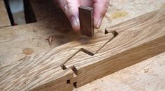 If you have an interest in Japanese joinery or joinery in general, then I would like to point you to an article series by John Bullar. Bullar is writing this article series about Japanese join… Más Japanese Carpentry, Japanese Joinery, Japanese Woodworking, Woodworking Joints, Woodworking Techniques, Woodworking Plans, Woodworking Projects, Youtube Woodworking, Woodworking Videos